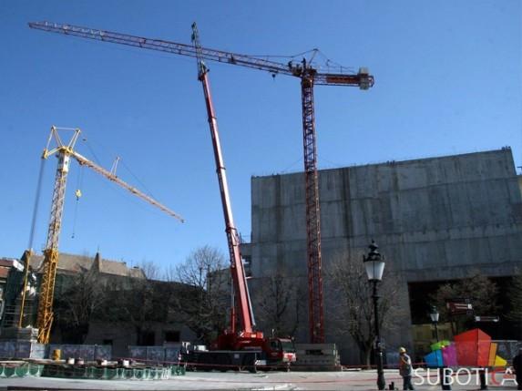 Radovi na rekonstrukciji Narodnog pozorišta