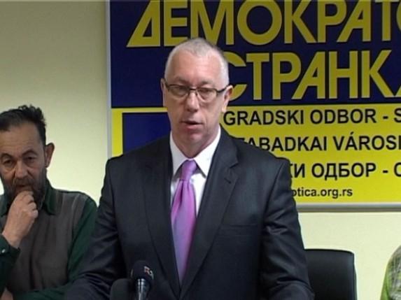 Demokratska stranka: loša medijska strategija Mađarskog nacionalnog saveta
