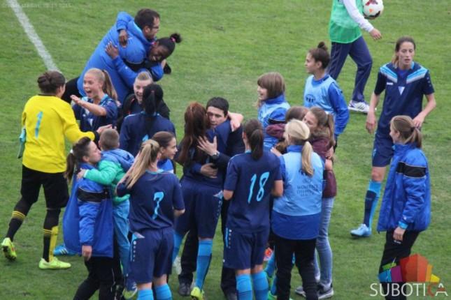 Fudbalerke Spartaka sačuvale mrežu protiv Volfsburga, za 7 dana revanš u Nemačkoj