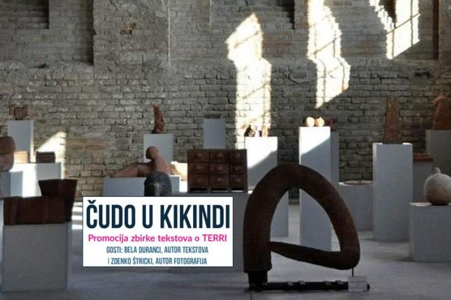 """Promocija zbirke Bele Durancija """"Čudo u Kikindi"""" u Savremenoj galeriji"""