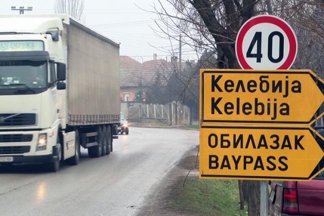 Pojačan intenzitet saobraćaja u Gajevoj, Metohijskoj i na Bajskom putu