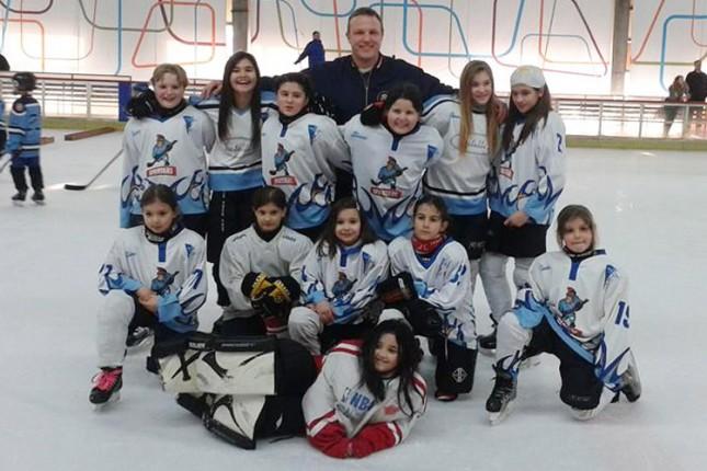 Bogat vikend mlađih kategorija hokejaša Spartaka uz istorijski debi ženskog tima