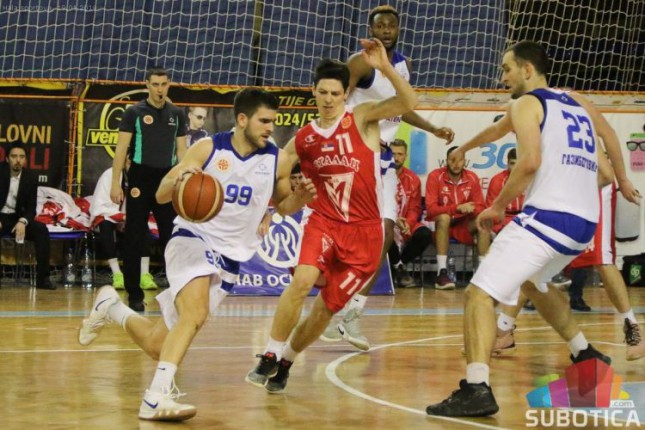 Košarka: Spartak nemoćan protiv Metalca (66:86)