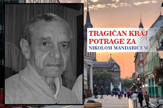 Subotičanin Nikola Mandarić pronađen mrtav