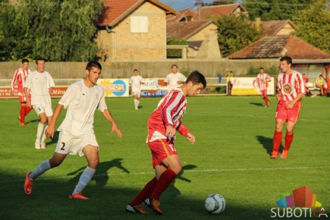 Fudbaleri Bačke 1901 savladali ekipu Dunava (2:1)
