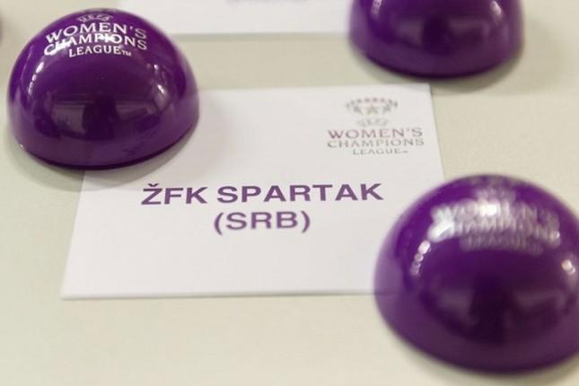 Fudbalerke Spartaka u prvom šeširu za kvalifikacije Lige šampiona