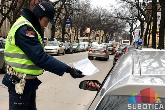 Prošle godine otkriveno preko 29.500 saobraćajnih prekršaja