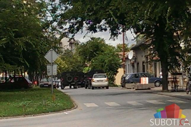 Dramatična akcija hapšenja u ulici Arsenija Čarnojevića