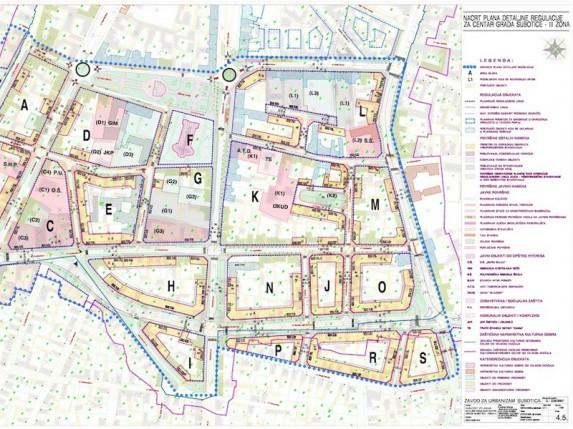 Javni uvid plana uređenja užeg centra grada