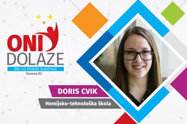 Oni dolaze: Doris Cvik, učenica Hemijsko-tehnološke škole