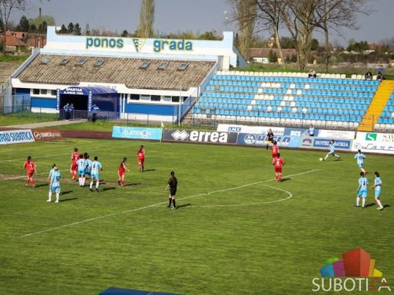 """ŽFK """"Spartak"""" pobedio službenim rezultatom posle samo 10 minuta igre"""