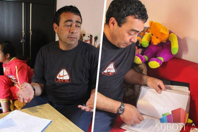 Samohrani otac bori se za pomoć za bolesno dete