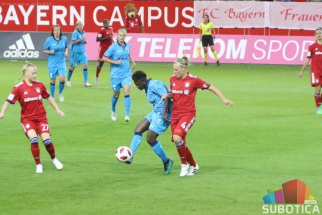 Fudbal (Ž): Bajern bolji i u revanšu, Spartak završio učešće u Ligi šampiona