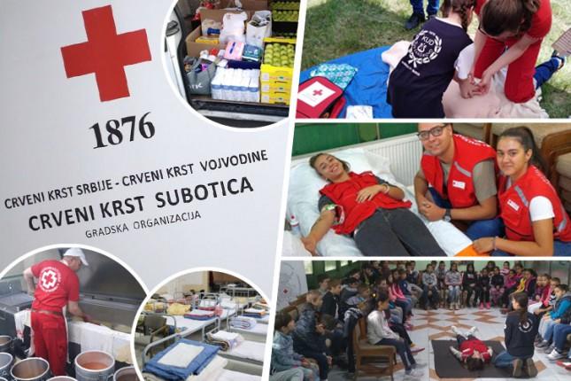 Crveni krst Subotice primer odlične organizacije i promoter pravih vrednosti