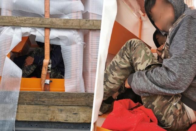 Migranati na Horgošu krišom ušli u prikolicu kamiona, carinici ih otkrili