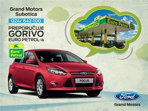 Saradnja subotičkog Euro Petrola i Forda