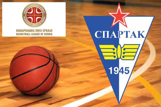 Košarkaši Spartaka poraženi od Konstantina (65:74)