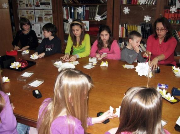 Nove dečije radionice u Gradskoj biblioteci