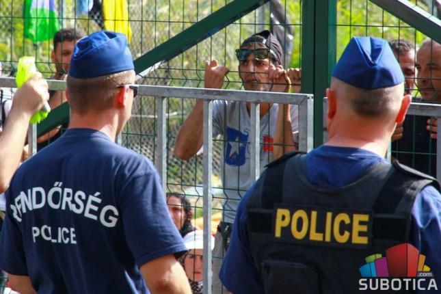 Šezdesetak migranata na silu pokušalo ući u Mađarsku, deo prešao, većina zaustavljena