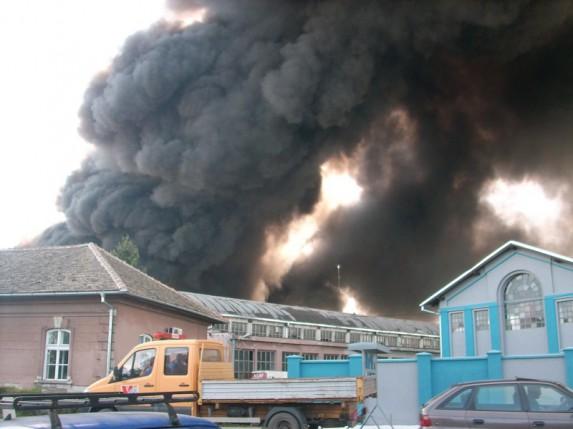 Veliki požar u okolini Pionira i na Gradskoj deponiji