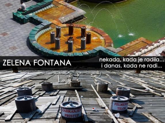 Počelo zazimljavanje fontana