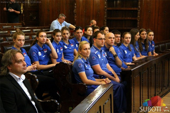 Prijem za juniorke Srbije i učesnike Kursa FIVB