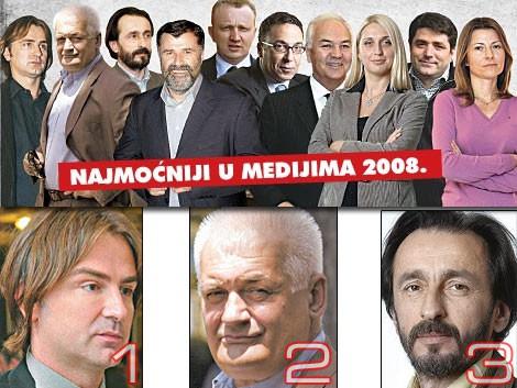 50 najmoćnijih ljudi u Srbiji 2008.