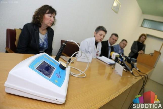 Subotička bolnica dobila laser za fizikalnu terapiju
