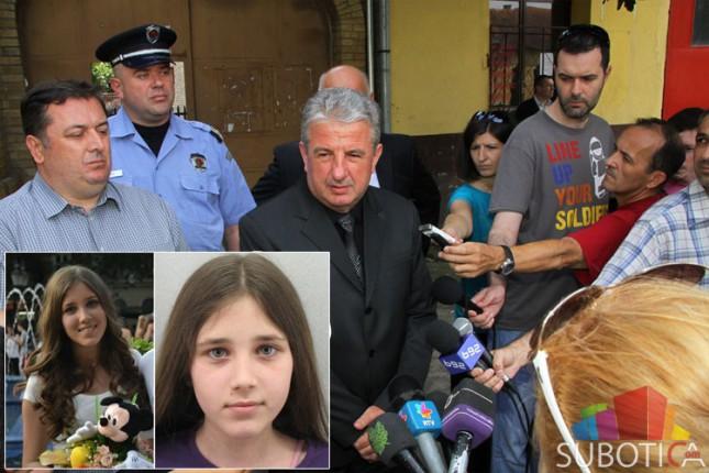 Veljović u Bajmoku: Postoje novi tragovi, verujemo da je Tijana živa