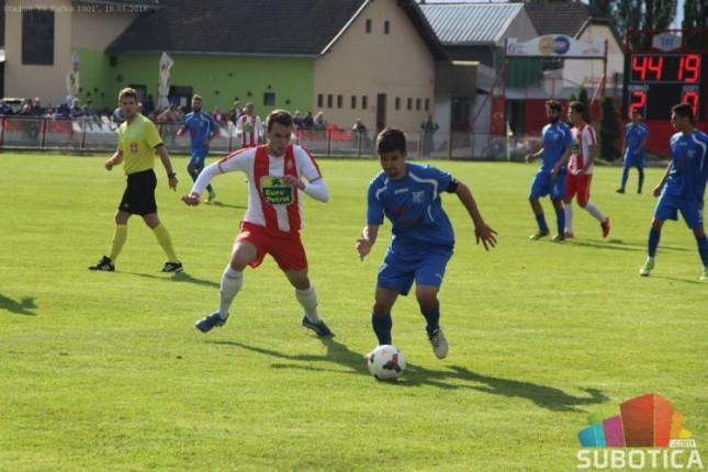 Fudbal: Bratstvo bolje od Bačke 1901 (1:3)