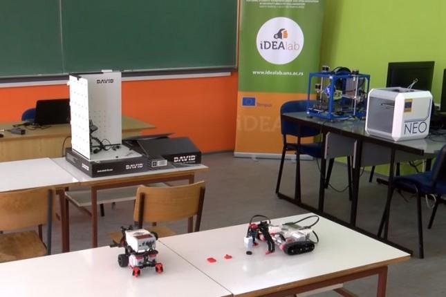 Nova savremeno opremljena laboratorija u VTŠ