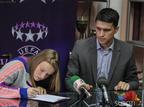 "ŽFK ""Spartak"" predstavio ""bombu"" na otvaranju prelaznog roka"