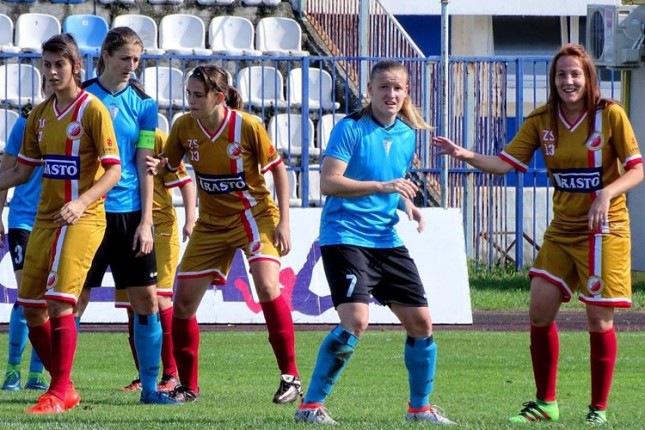 Fudbalerke Spartaka savladale Vojvodinu (2:0)