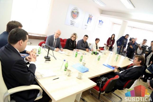 Održan sastanak sa predstavnicima hrvatske nacionalne manjine u Subotici