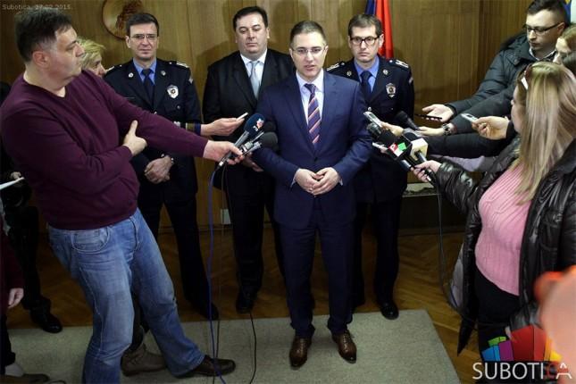 Stefanović: Broj krivičnih dela u opadanju, za Miličinim ubicom se i dalje traga