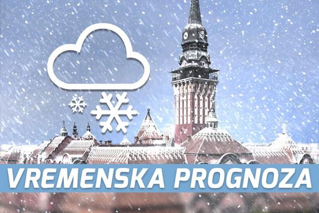 Vremenska prognoza za 25. januar (petak)