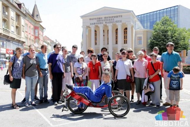 Slavko Adamov dobio specijalni bicikl