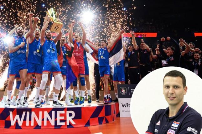 Odbojkaška reprezentacija Srbije na tronu Evrope, Igor Žakić deo stručnog štaba šampiona