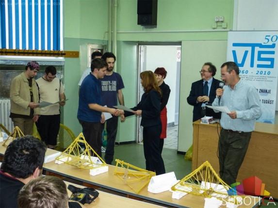 Održano IV otvoreno takmičenje u gradnji mosta od testa