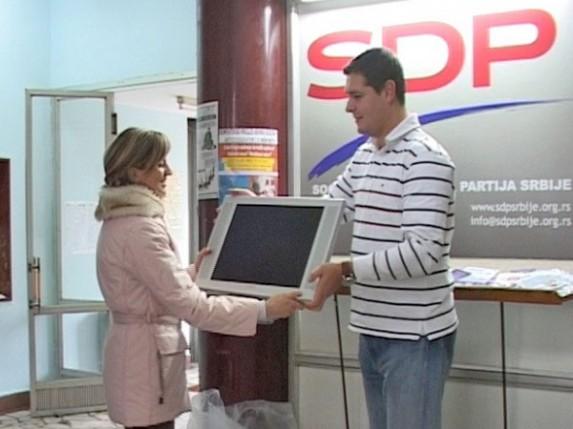 SDP poklonio dva računara