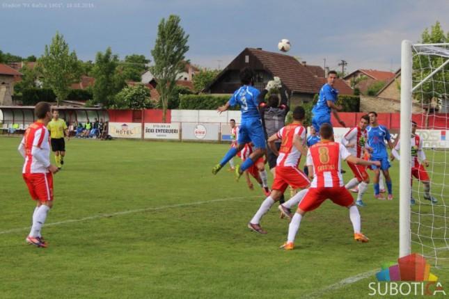 Fudbaleri Bačke ubedljivi protiv Cementa na premijeri novog semafora