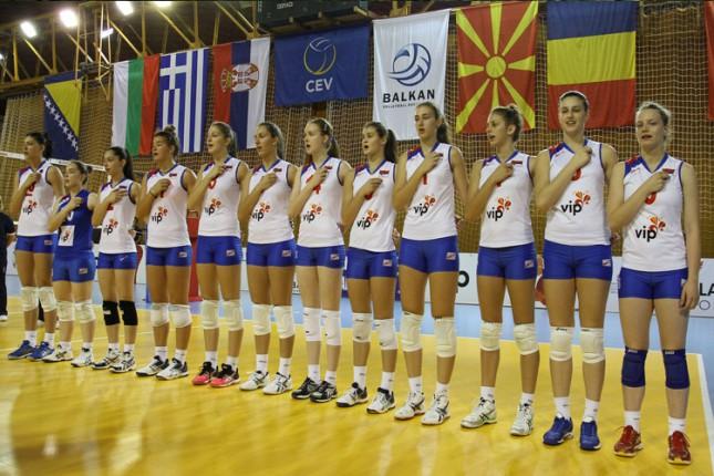 Odbojkašice Srbije upisale drugu pobedu na Balkanijadi