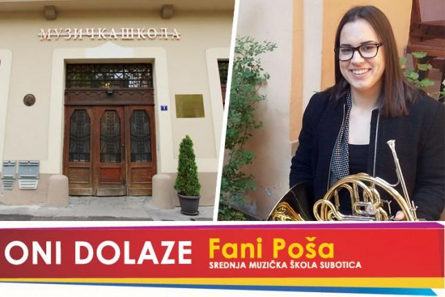 Oni dolaze: Fani Poša, maturantkinja Srednje muzičke škole