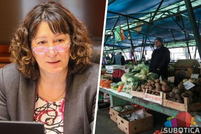"""""""Subotičke pijace"""" u 2018. godini unapređuju pijačni prostor i šire kapacitete"""