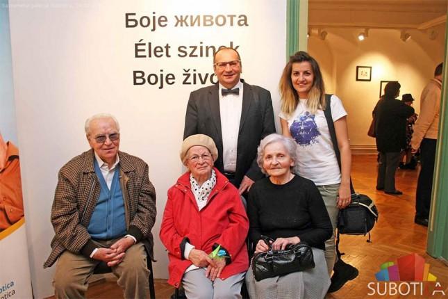 """Otvorena izložba """"Boja života"""", posvećena našim najstarijim sugrađanima"""