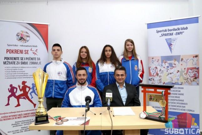 Odličan nastup karatista Enpija na Svetskom prvenstvu u Mađarskoj