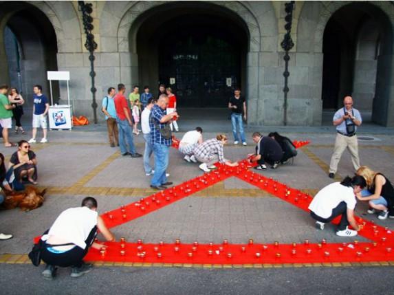 Dan sećanja na preminule od AIDS-a