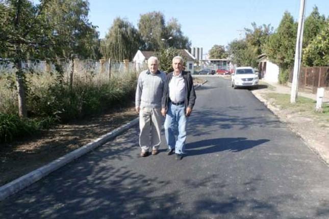 Nekoliko ulica u Aleksandrovu dobilo kanalizaciju i put