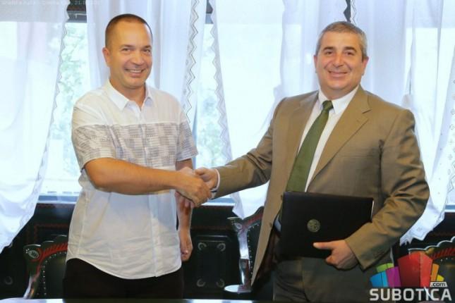 Potpisan sporazum o saradnji Pravnog fakulteta i Grada Subotice
