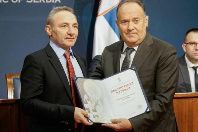 Hemijsko-tehnološka škola dobitnik Svetosavske nagrade